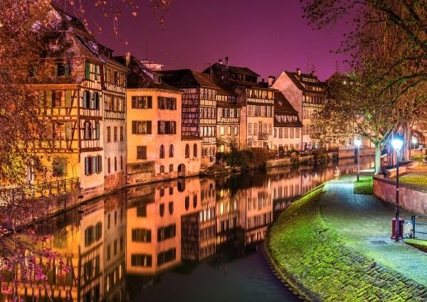 quartiers huppés de Strasbourg