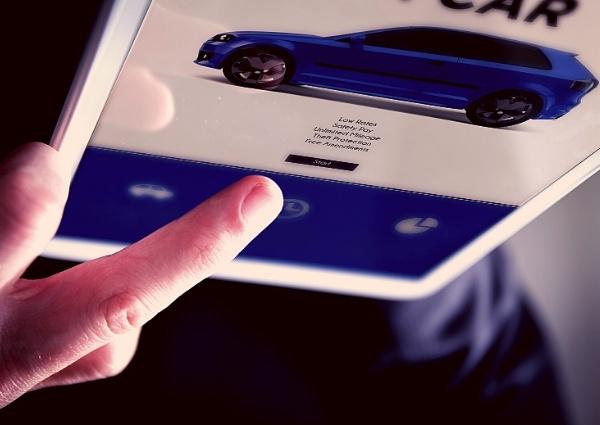 voitures répertoriées sur le site Web